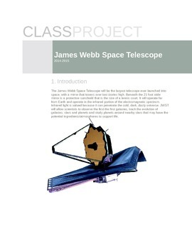 James Webb Space Telescope Project
