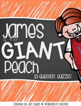 James and the Giant Peach 10-Question Quizzes
