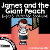James and the Giant Peach [Roald Dahl] Book Unit