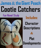 James and the Giant Peach Novel Study (Scoot Unit Review Game)