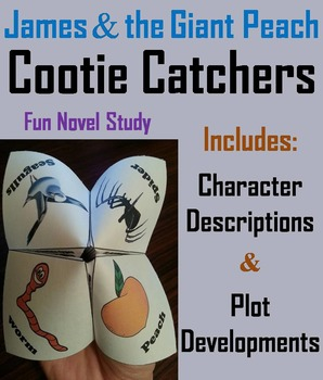 James and the Giant Peach Activity (Scoot Unit Review Game)
