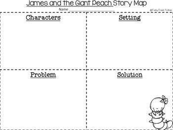 James and the Giant Peach {A Book Companion}