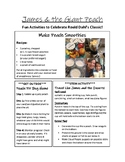James and the Giant Peach Activities printable