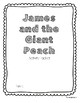 James and the Giant Peach Activity Packet and Novel Study