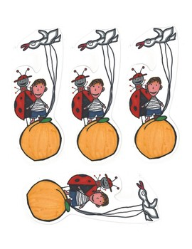James and the Giant Peach Bookmarks