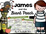 James and the Giant Peach Choice Board {Free]