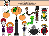 James and the Giant Peach Clip Art Collection