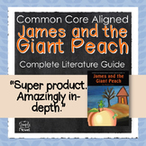 James and the Giant Peach Novel Study, Questions, Activities, Tests & Projects