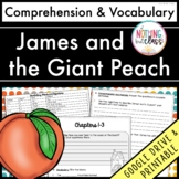 James and the Giant Peach: Comprehension and Vocabulary by chapter