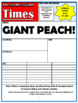 James and the Giant Peach Comprehension Activities Booklet!