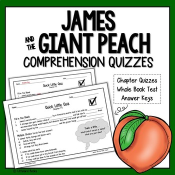 James and the Giant Peach Comprehension