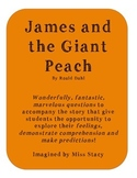 James and the Giant Peach - Comprehension and Feelings