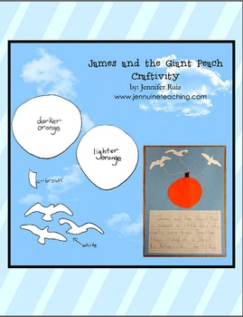 James and the Giant Peach Craftivity