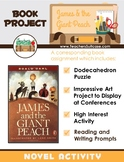 James and the Giant Peach {Dodecahedron Puzzle & Book Project}