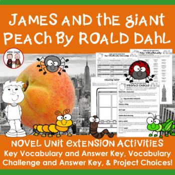 James and the Giant Peach Extension Activities