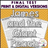 James and the Giant Peach Final Test