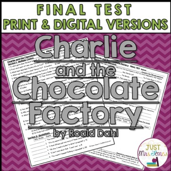 Charlie and the Chocolate Factory Final Test