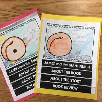 James and the Giant Peach Flip Book (Flipbook Project)