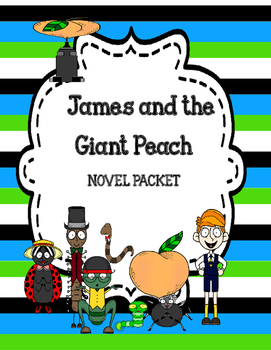 James and the Giant Peach Freebie