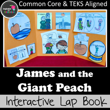 James and the Giant Peach Interactive Novel Study (Notebook or Lap Book)