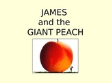 James and the Giant Peach Jeopardy