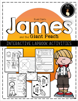 James and the Giant Peach Lapbook Plus
