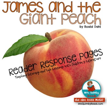 James and the Giant Peach-Roald Dahl - Literature Study Pack- Reading