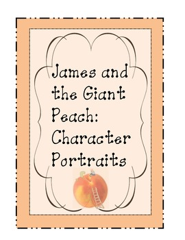 James and the Giant Peach: Main Character Portraits
