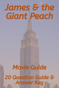 James and the Giant Peach Movie Guide