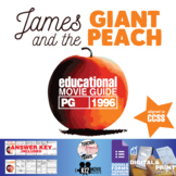 James and the Giant Peach Movie Guide   Questions   Worksheet (PG - 1996)