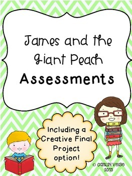 James and the Giant Peach Novel Assessments
