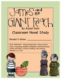 James and the Giant Peach Novel Study