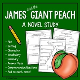 James and the Giant Peach Comprehension Questions and Vocabulary