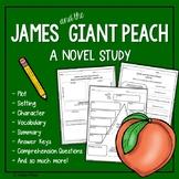 James and the Giant Peach Novel Study