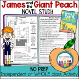 James and the Giant Peach - Novel Study