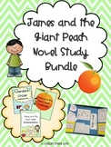 James and the Giant Peach Novel Study BUNDLE with Lapbook