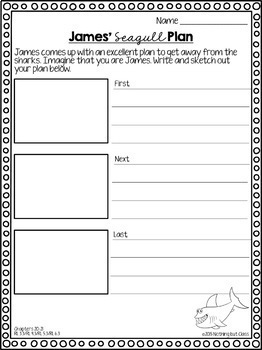 James and the Giant Peach Novel Study Unit: FREE SAMPLE