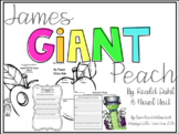 James and the Giant Peach Novel Unit