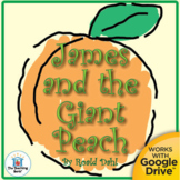 James and the Giant Peach Novel Study Book Unit