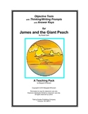 James and the Giant Peach  Objective Tests