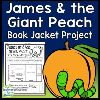 James and the Giant Peach Project: Make a Book Jacket (A Book Report Activity)
