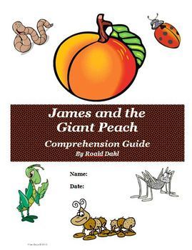 James and the Giant Peach Novel Unit Super Bundle