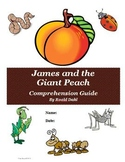 James and the Giant Peach Novel Study Unit Bundle