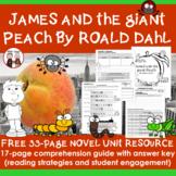 James and the Giant Peach Novel Study Unit