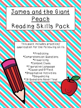 James and the Giant Peach Reading Skills Pack (3rd-5th)