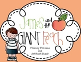 James and the Giant Peach Roald Dahl Fluency and Artifact