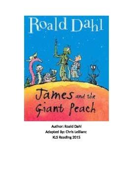 James and the Giant Peach - Roald Dahl adapted book summar