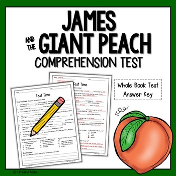 James and the Giant Peach Test