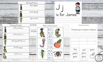 James and the Giant Peach - Tots to Prep Pack