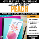 James & the Giant Peach Foldable Novel Study Unit